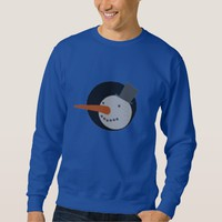 Snowman Christmas Ugly Sweater Pullover Sweatshirts