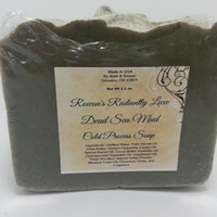 Dead Sea Mud Soap, Homemade, Cold Process Soap, Vegan Soap, Spa Soap