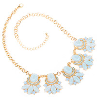 Gwyneth Necklace Set - Sky Blue
