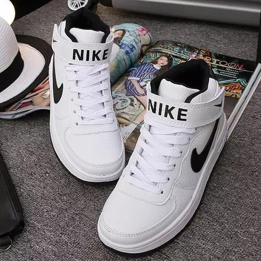 Image of NIKE Woman Fashion Ankle Boots Running Sneakers Sport Shoes