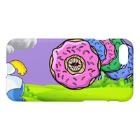 Homer vs. The Donut Worm ( Collage ) iPhone 8/7 Case