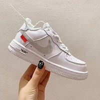 Nike Air Force 1 Air co Star Limited Edition children's board shoes