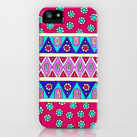 Triangles and Dots iPhone & iPod Case by PeriwinklePeacoat   Society6