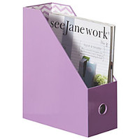 See Jane Work Magazine File 12 H x 10 W x 4 14 D Lavender by Office Depot & OfficeMax