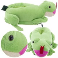 Frog Slippers for Women and Men ExtraLarge