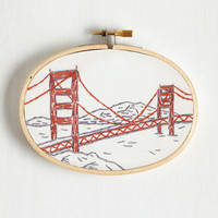 Handmade & DIY Best Frans Forever Embroidery Kit by ModCloth