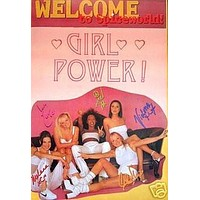 Spice Girls Poster Welcome to Spiceworld HOT Sexy 24x36