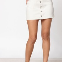 PacSun Button Down Mini Skirt at PacSun.com