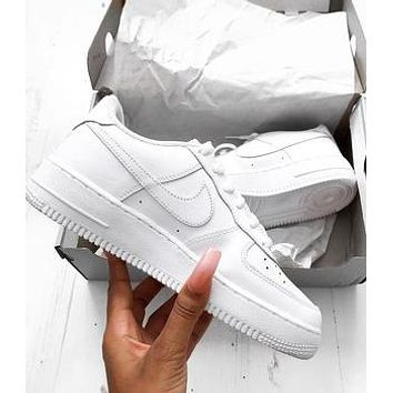 AIR FORCE 1 NIKE  Tide brand men and women fashionable and comfortable sports shoes