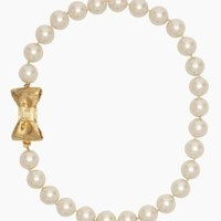 all wrapped up pearls short necklace - kate spade new york