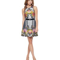 Eloise Printed Ponte Dress by Juicy Couture