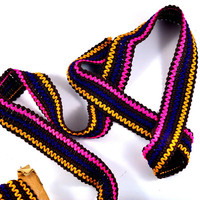 Ric Rac Fabric Trim - Brown, Pink, Yellow Blue - 3 cm x 1 metre - Sewing and Craft Supply on Etsy
