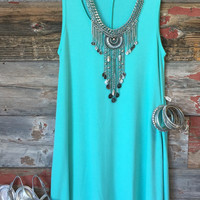 Summer Vibes Dress: Mint