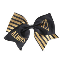 Harry Potter Always Large Cheer Hair Bow