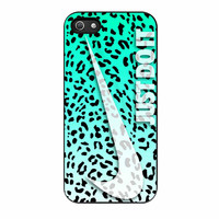 Nike Just Do It Leopard iPhone 5s Case