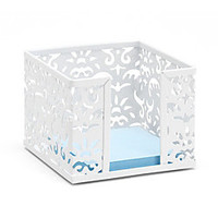 Realspace Brocade Memo Cube White by Office Depot