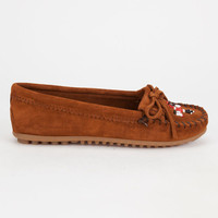 Minnetonka Thunderbird Ii Womens Shoes Brown  In Sizes