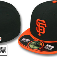 SF Giants 2012 'WORLD SERIES' ALTERNATE Fitted Hat by New Era