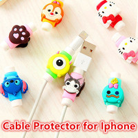 USB Cable Winder Cover For IPhone 5 5s 6 6s 7 7s plus