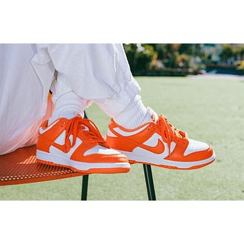 """Nike Sb Dunk Low """"Syracuse"""" low-top skateboard shoes"""