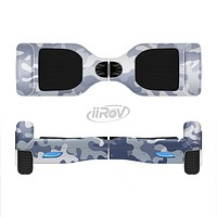 The Traditional Snow Camouflage Full-Body Skin Set for the Smart Drifting SuperCharged iiRov HoverBoard