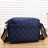 Louis Vuitton Women Fashion Leather Crossbody Shoulder Bag Satchel