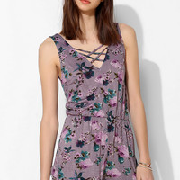 Pins And Needles Floral Romper - Urban Outfitters