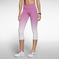 Nike Legend 2.0 Tight Fit Women's Training Capris - Base Grey