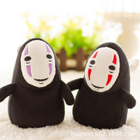 15cm Spirited Away No Face Ghost Kaonashi Plush Doll Creative Pendat Toy Gifts