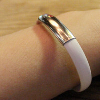 White Bracelet Lightning Cable for iPhone 6s 6 plus Android + Gift Box 07