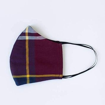 Lost + Wander Adult Face Mask - FALL Plaid