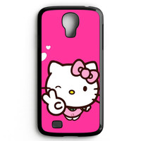 Hello Kitty Girl Samsung Galaxy S4 Case