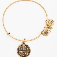 Women's Alex and Ani 'Born to Be Something' Expandable Wire Bangle