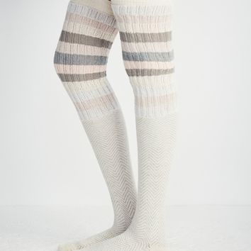Free People Huntington Over The Knee Sock
