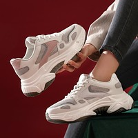 New casual sports comfortable Korean all-match women's shoes trendy fashion platform old shoes