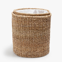 CLOTHES BASKET WITH ADJUSTABLE FABRIC TOP - BASKETS - BATHROOM | Zara Home United States of America