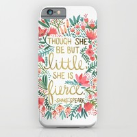 Little & Fierce iPhone & iPod Case by Cat Coquillette | Society6