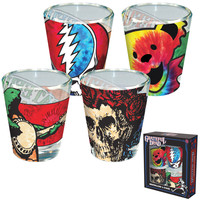 Grateful Dead Shot Glass Set