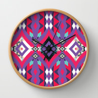 Mix #94 Wall Clock by Ornaart