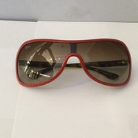Red Ray Ban Sunglasses