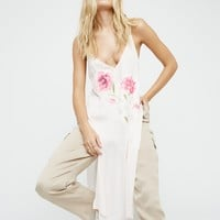 Free People Lone Flower Maxi Top