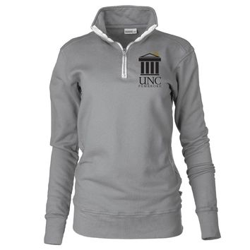 Official NCAA University of North Carolina at Pembroke - PPNCP009 Unisex 1/4 Zip Up Fleece Pullover