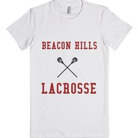 Stiles Beacon Hills Lacrosse-Female White T-Shirt