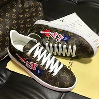 Louis Vuitton LV Woman Men Fashion Old Skool Flats Shoes