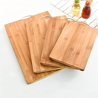 New Arrival,High quality thick antibacterial chopping rectangular board food vegetable cutting board Kitchen Utensils.