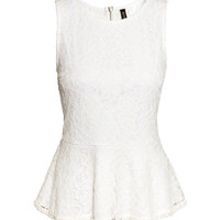 Peplum Top - from H&M