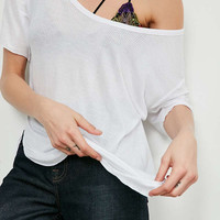 Silence + Noise Sylvan Scoopneck Tee   Urban Outfitters