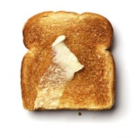 Toast - wall art decals peel and stick self adhesive