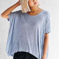 Hiatus Sheer Stripe Tee
