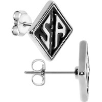 Officially Licensed Sons of Anarchy S of A Stud Earrings